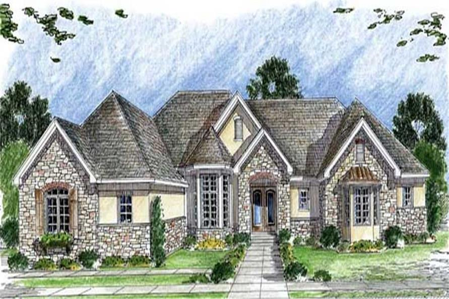 Main image for house plan # 20312