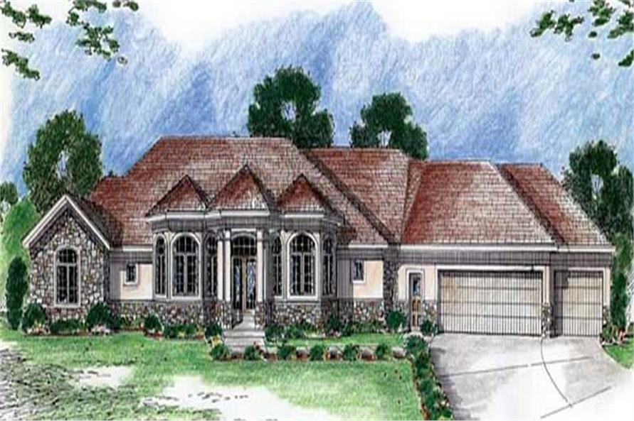Main image for house plan # 20337