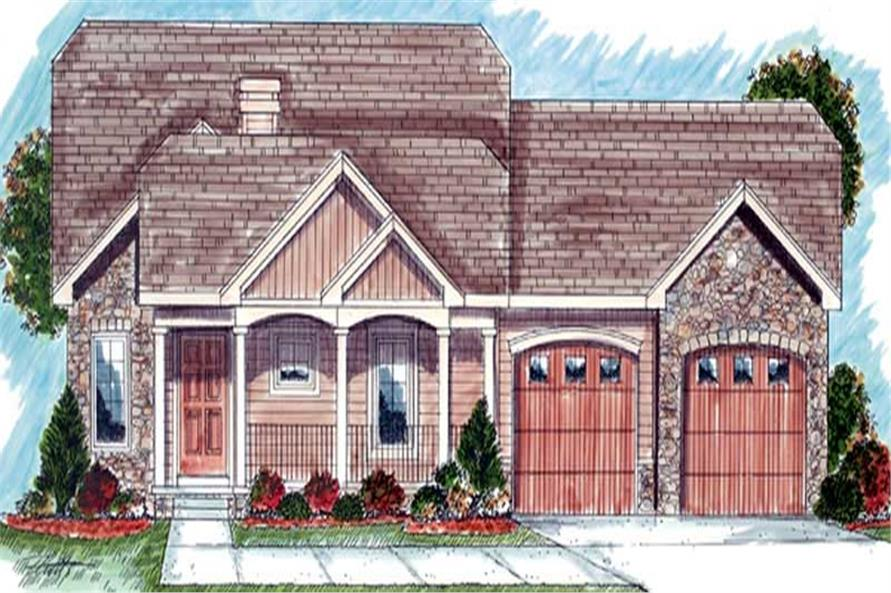 Main image for house plan # 20242