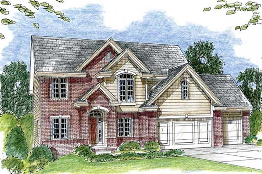 Main image for house plan # 20290