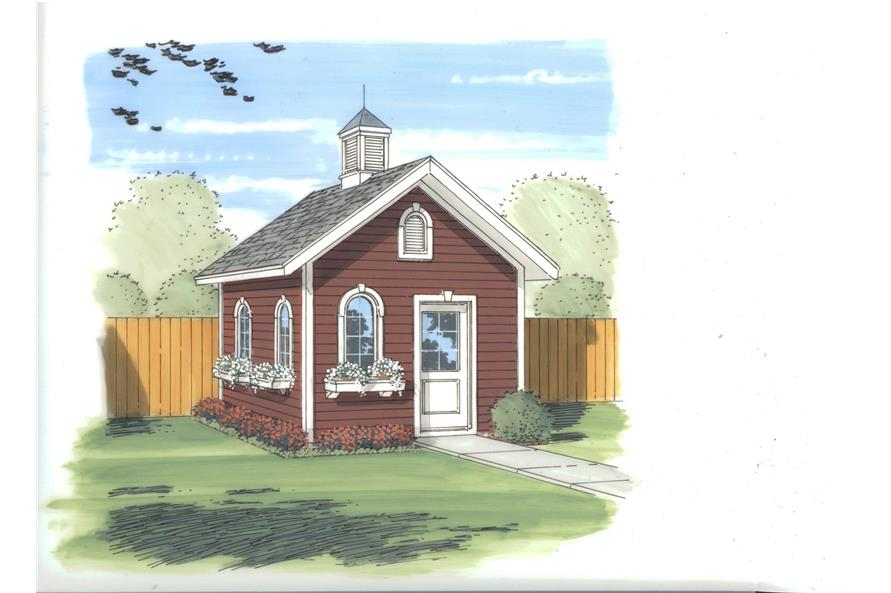 specialty house plan - 0 bedrms  0 baths