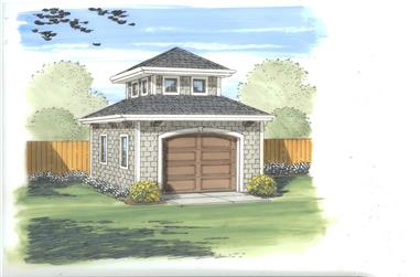 0-Bedroom, 170 Sq Ft Specialty Home Plan - 100-1130 - Main Exterior