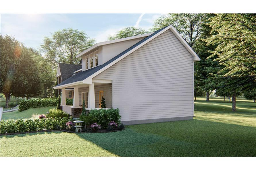 Right View of this 2-Bedroom,1441 Sq Ft Plan -1441