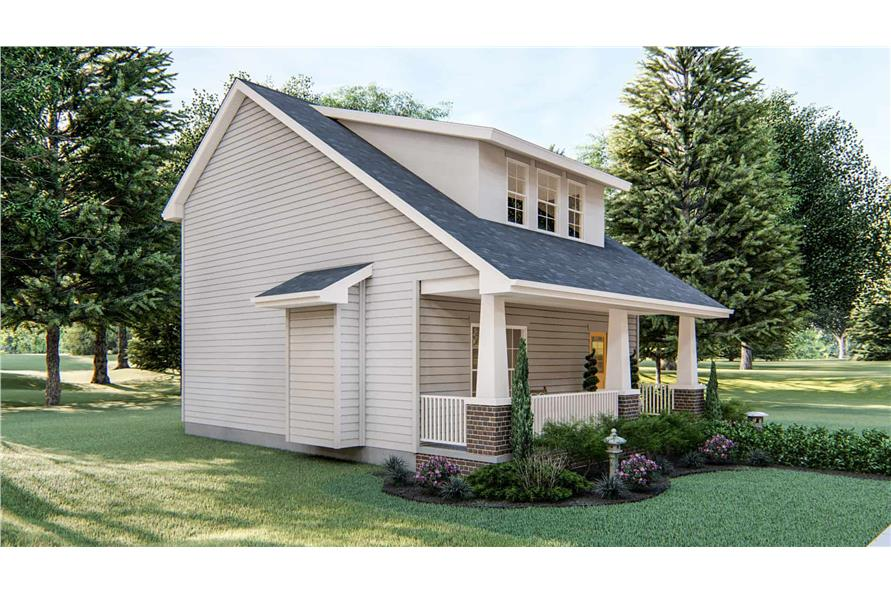 Left View of this 2-Bedroom,1441 Sq Ft Plan -1441