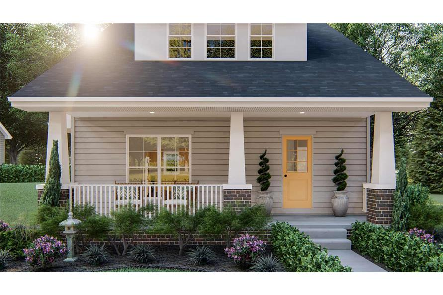 Front View of this 2-Bedroom,1441 Sq Ft Plan -1441