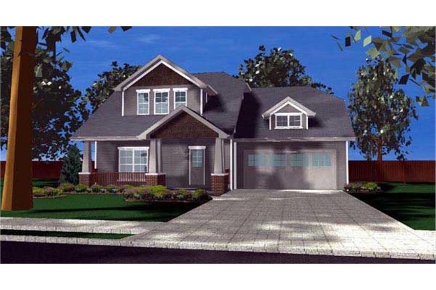 100-1137: Home Plan Rendering