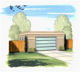 House Plan #100-1142