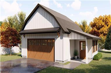 0-Bedroom, 697 Sq Ft Garage Plan - 100-1149 - Main Exterior