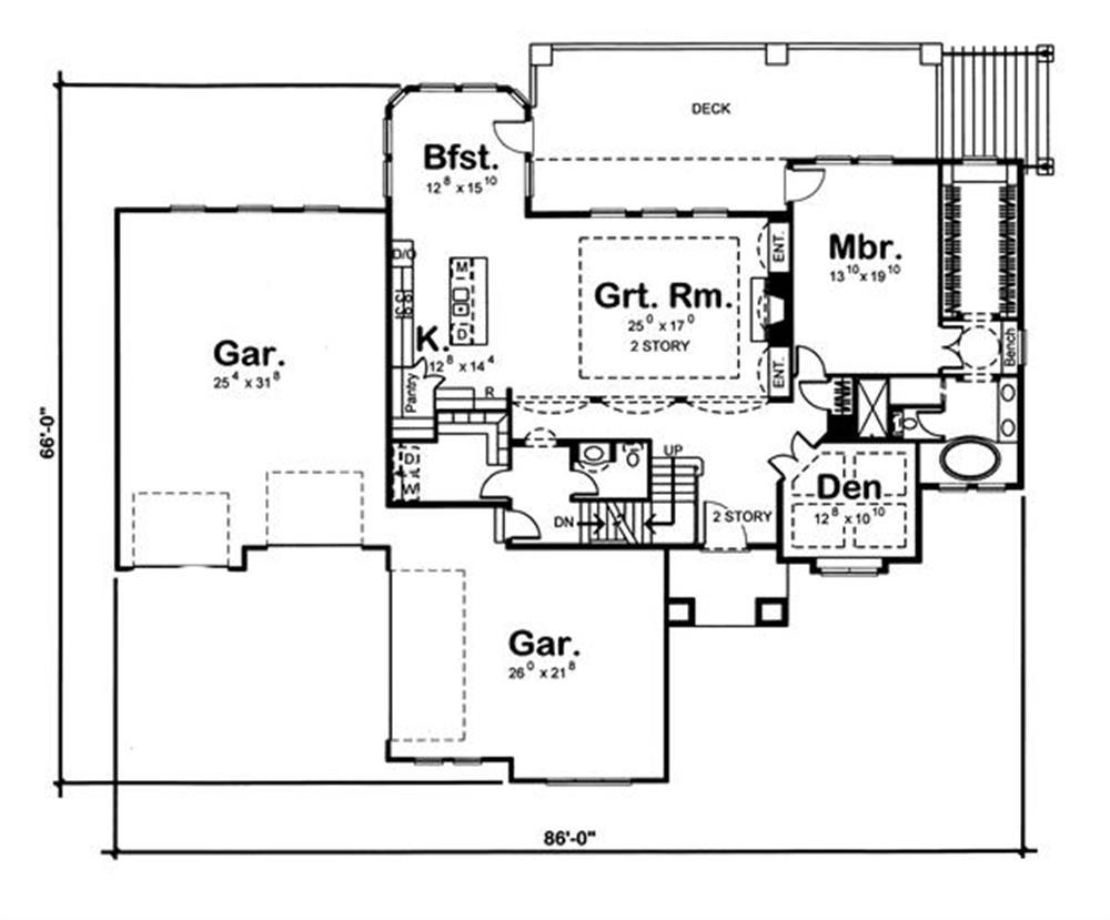 100-1178: Floor Plan Main Level
