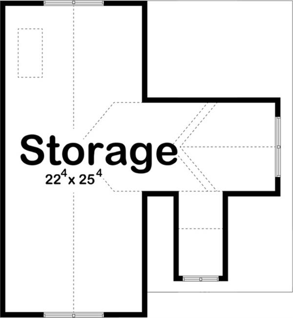 100-1200: Floor Plan Upper Level