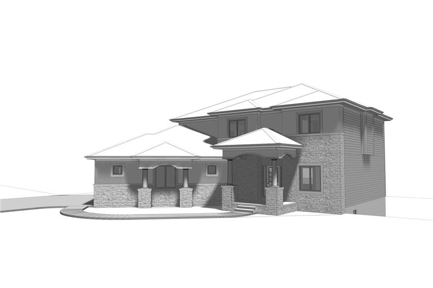100-1204: Home Plan Rendering
