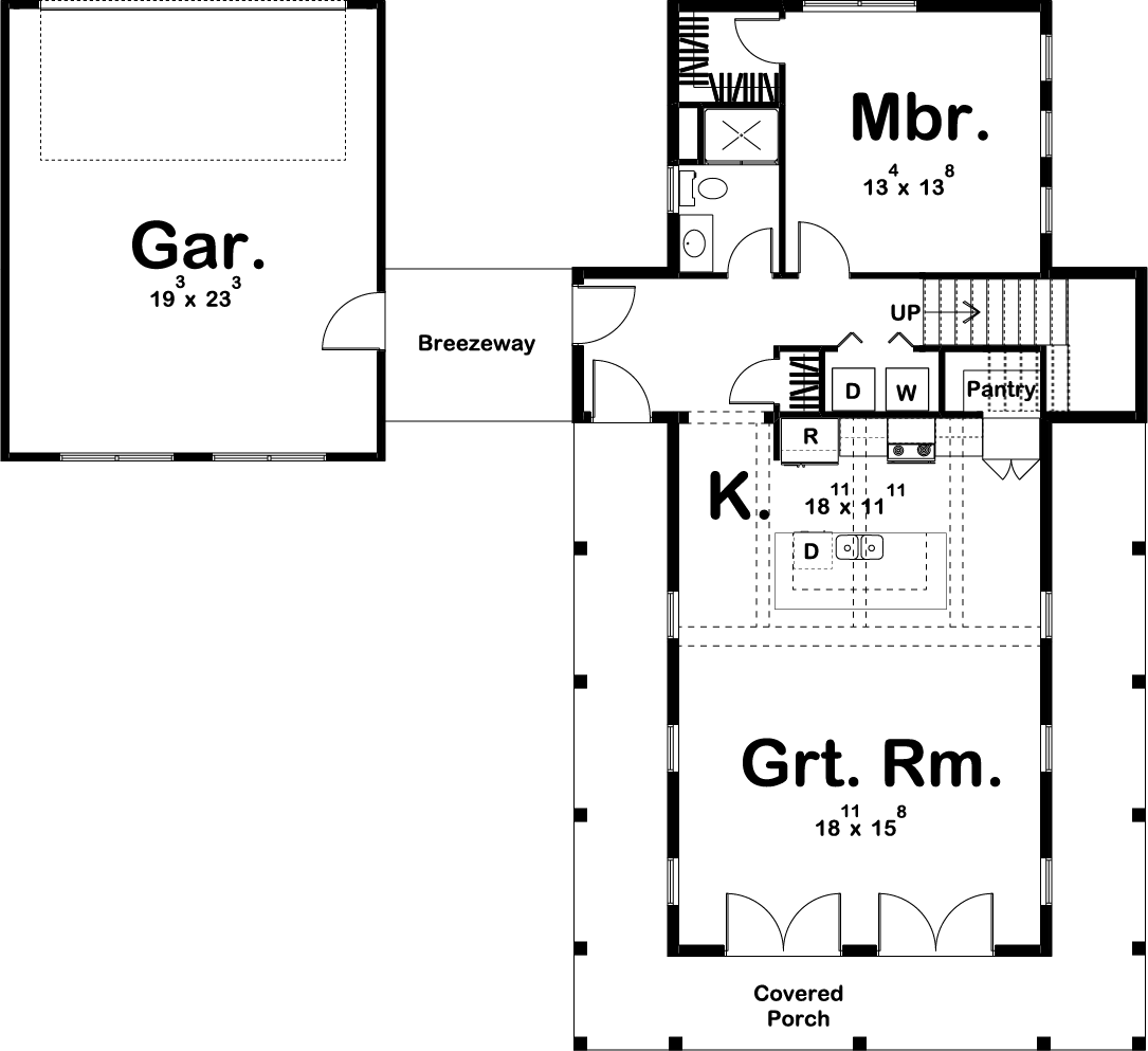 Farmhouse House Plan 100 1211 2 Bedrm 1757 Sq Ft Home