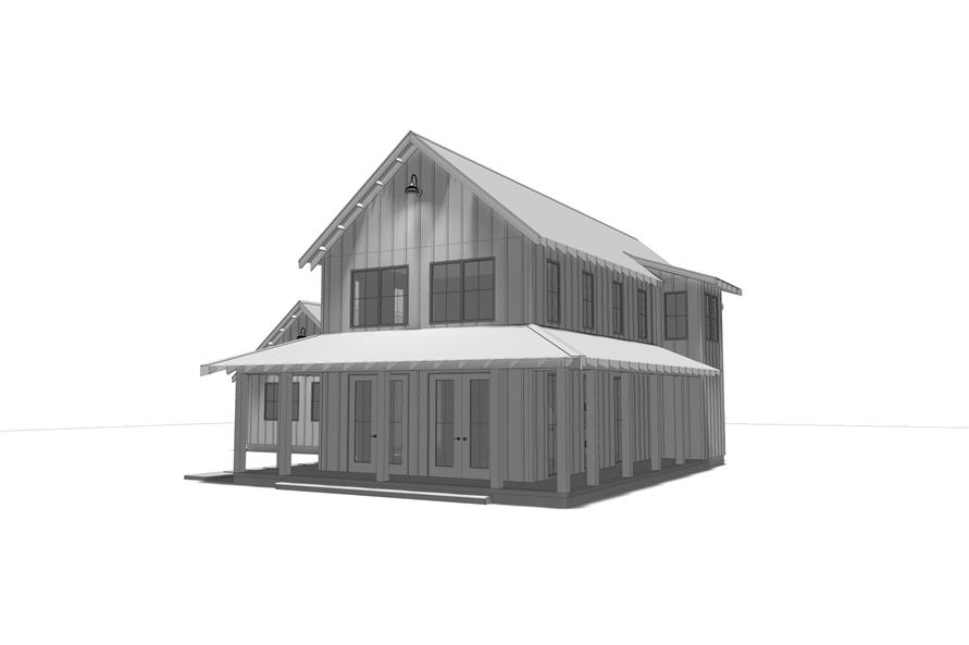 100-1211: Home Plan 3D Image