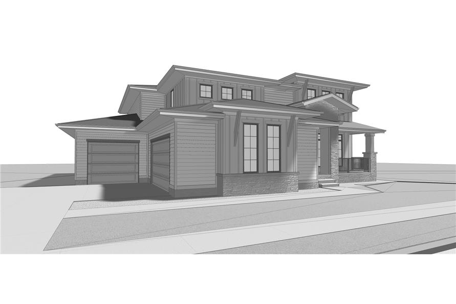 Home Plan Other Image of this 4-Bedroom,3156 Sq Ft Plan -3156