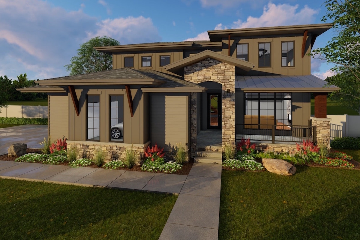 4 Bedrm, 3156 Sq Ft Luxury House Plan #100-1214