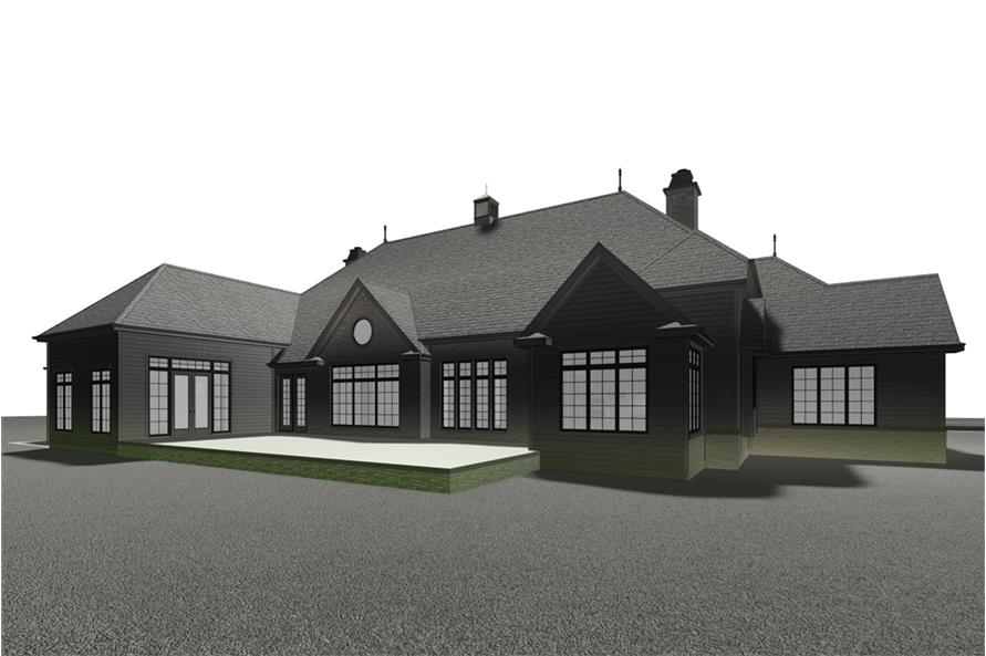 Home Plan 3D Image of this 3-Bedroom,4853 Sq Ft Plan -4853