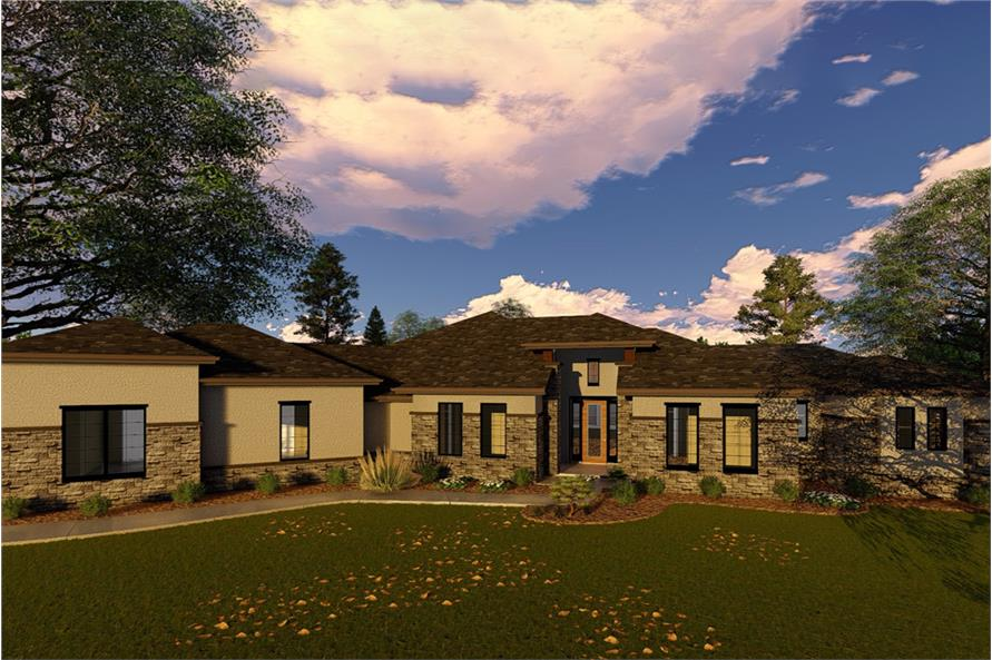 Home Plan Rendering of this 2-Bedroom,3285 Sq Ft Plan -3285