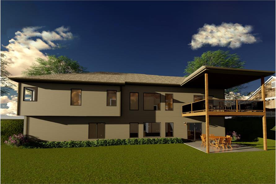 Home Plan Rendering of this 2-Bedroom,2242 Sq Ft Plan -2242