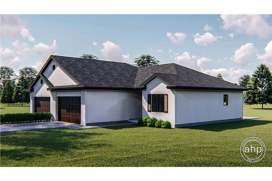 Right View of this 2-Bedroom,1189 Sq Ft Plan -1189