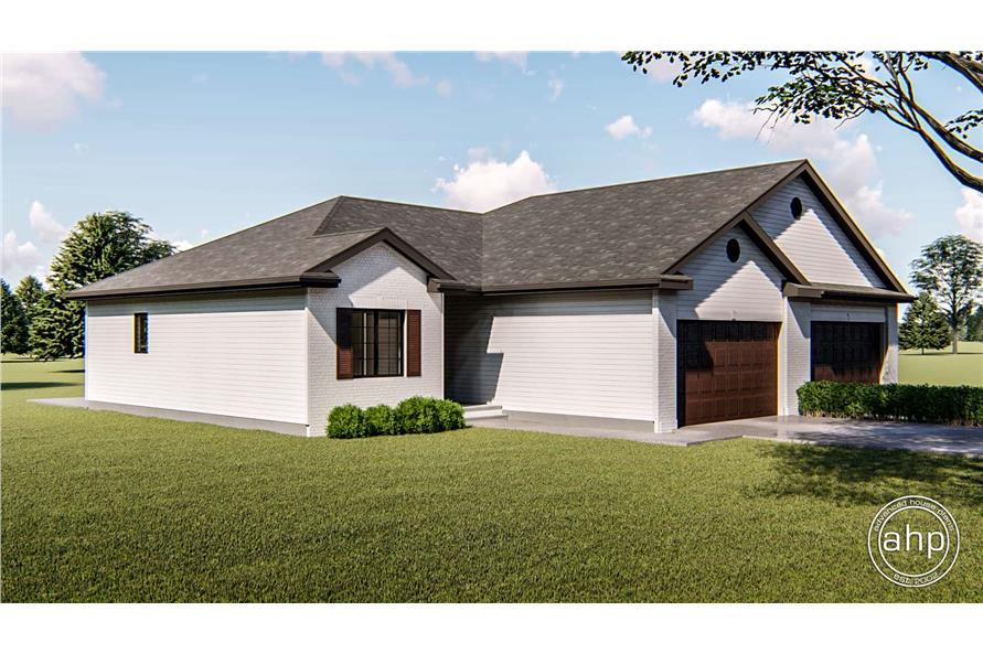 Left View of this 2-Bedroom,1189 Sq Ft Plan -1189