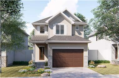 3-Bedroom, 1645 Sq Ft Traditional House Plan - 100-1264 - Front Exterior