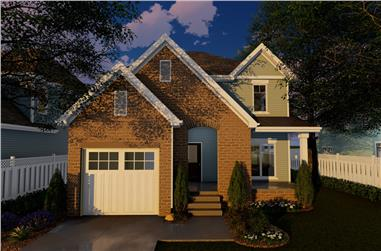 4-Bedroom, 2294 Sq Ft Traditional Home Plan - 100-1276 - Main Exterior