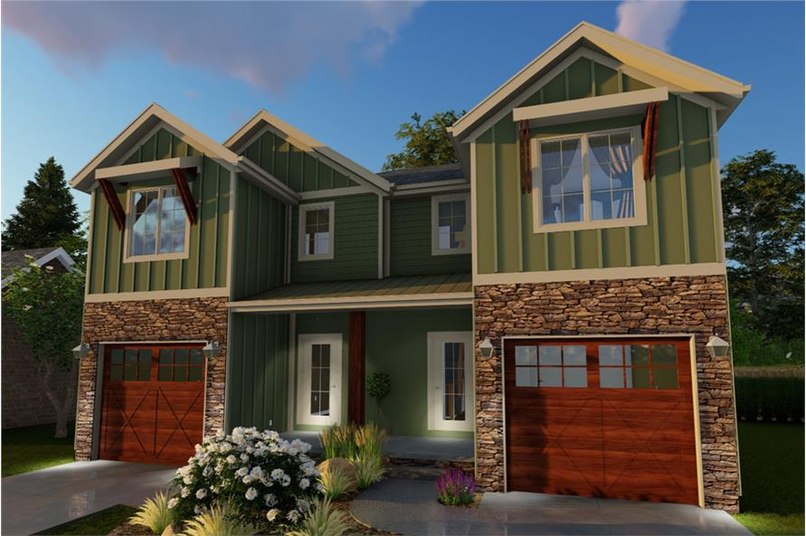 Front Door of this 3-Bedroom,1489 Sq Ft Plan -1489