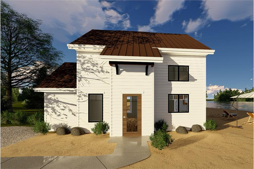 1-Bedroom, 852 Sq Ft Traditional Home Plan - 100-1323 - Main Exterior