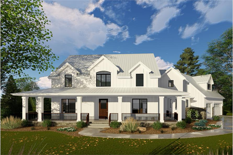 Great #100 1332 · 4 Bedroom, 3467 Sq Ft Farmhouse Home Plan   100 1332   Main Gallery
