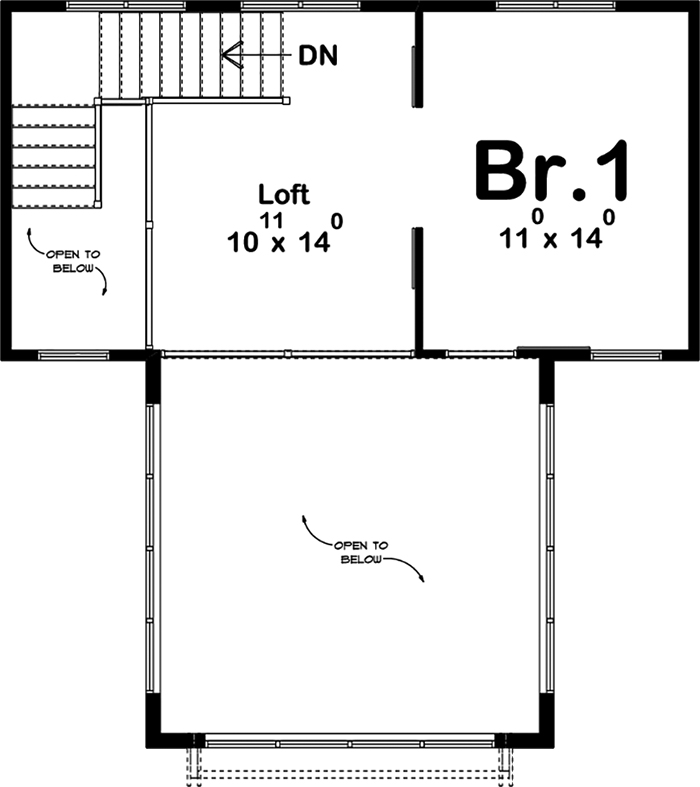 Farmhouse home plan 1 bedrms 1 baths 999 sq ft 100 for 100 floor 21
