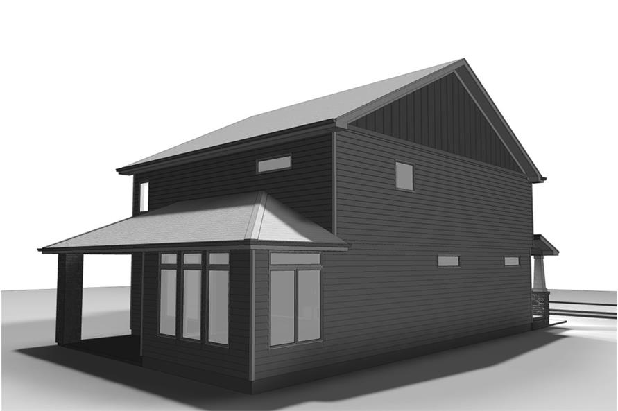 Home Plan 3D Image of this 4-Bedroom,2674 Sq Ft Plan -2674