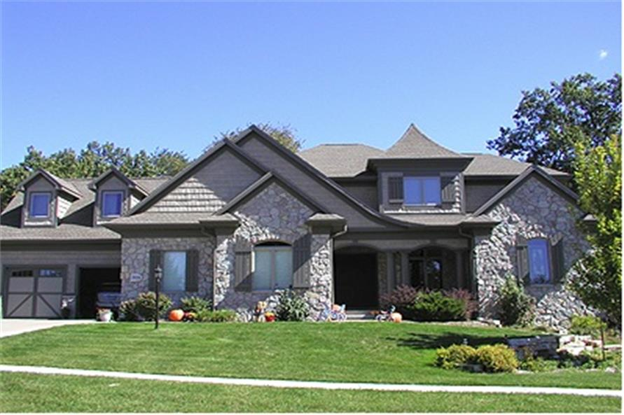 4-Bedroom, 3199 Sq Ft Country Home Plan - 101-1000 - Main Exterior