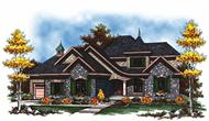 Main image for house plan # 17025