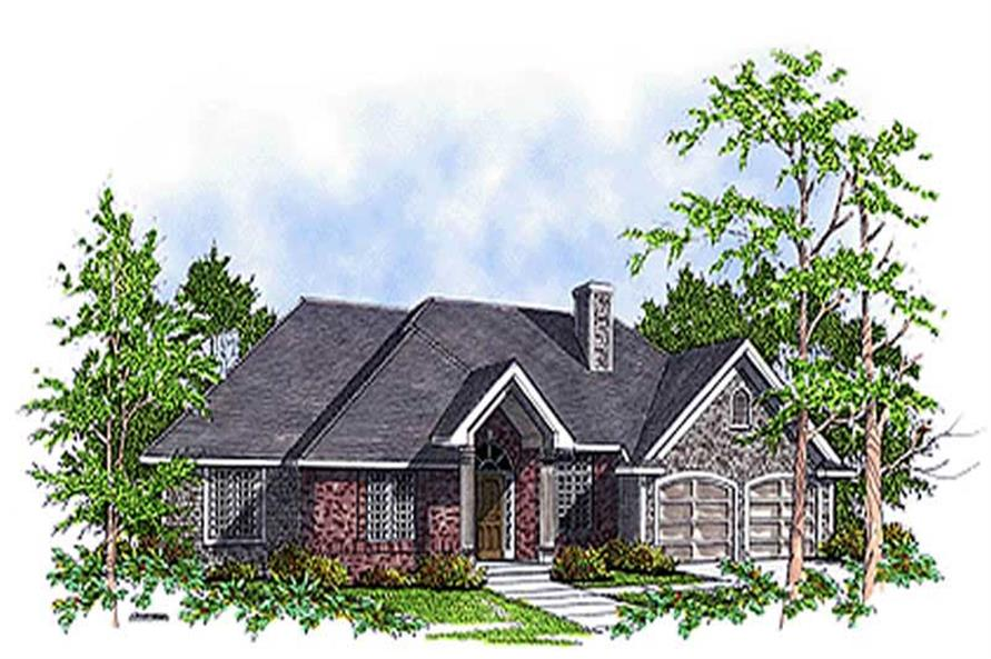 Main image for house plan # 17088