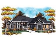 Main image for house plan # 17026