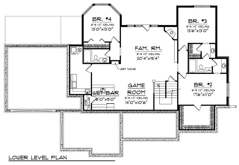 House Plan 101 1010 4 Bedroom 3605 Sq Ft Country