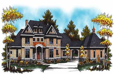 Main image for european house plan # 17031