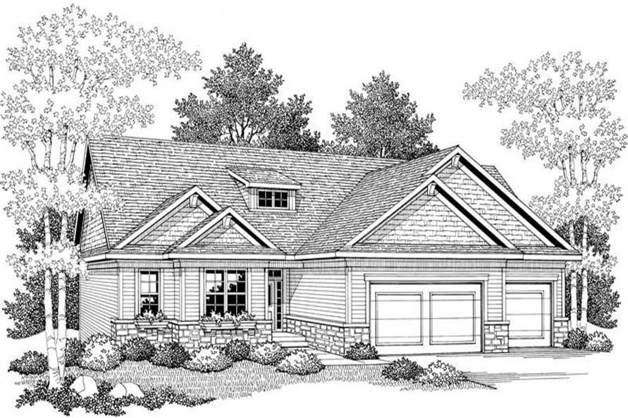 House Plan #101-1019