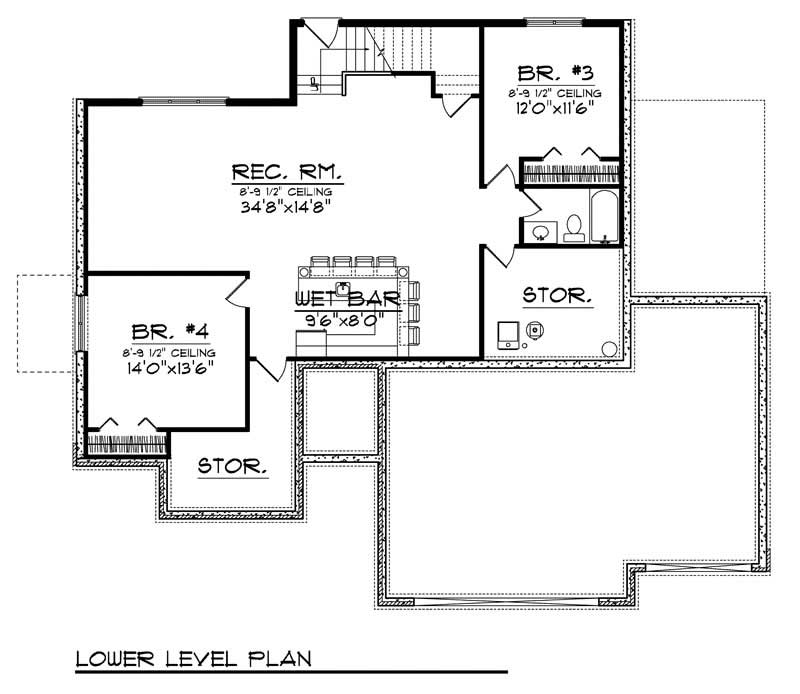 House Design 101: Traditional Home With 4 Bedrooms, 2724 Sq