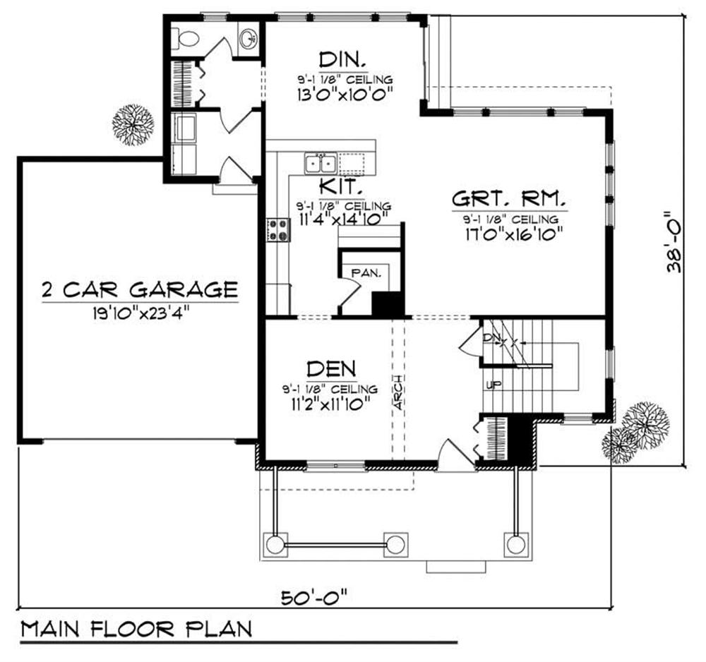 Large images for house plan 101 1024 for Home design 101
