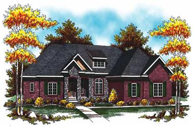 Main image for house plan # 17015