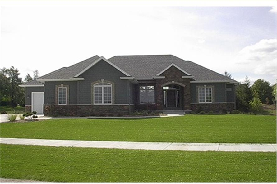 Home Exterior Photograph of this 3-Bedroom,2764 Sq Ft Plan -2764