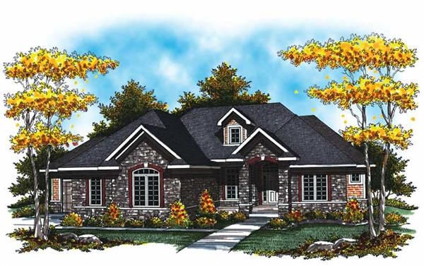 Main image for house plan # 17023
