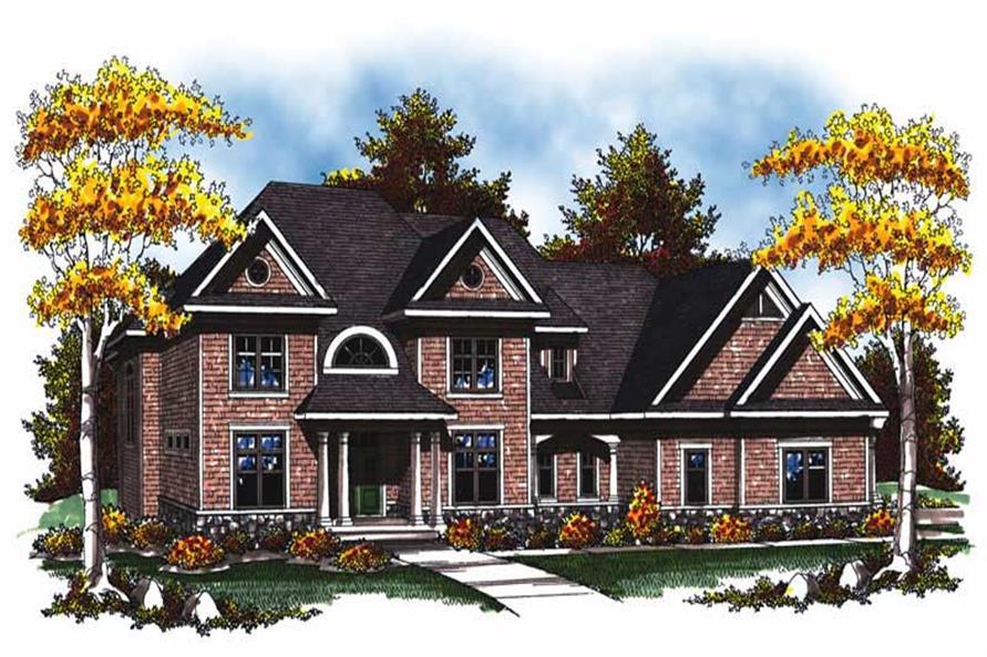 Main image for european house plan # 17032