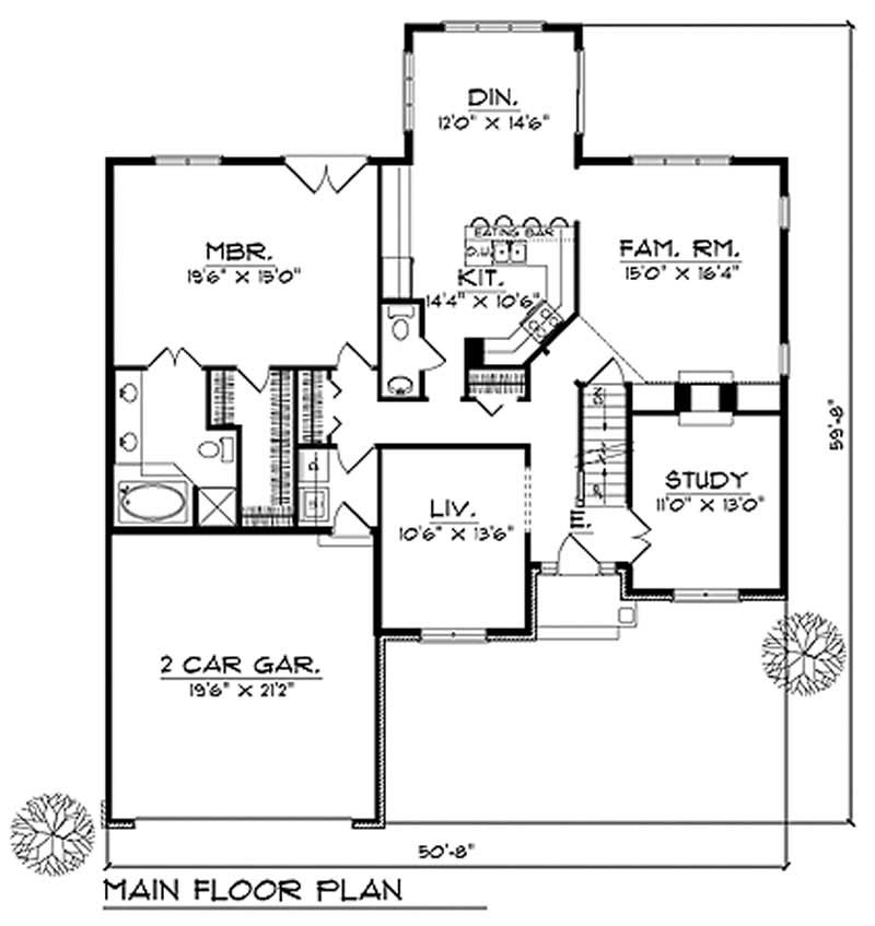 House Design 101: Craftsman Home With 4 Bedrooms, 2484 Sq Ft
