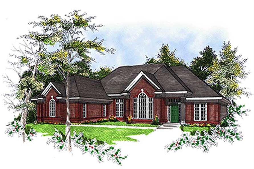 Main image for house plan # 17092
