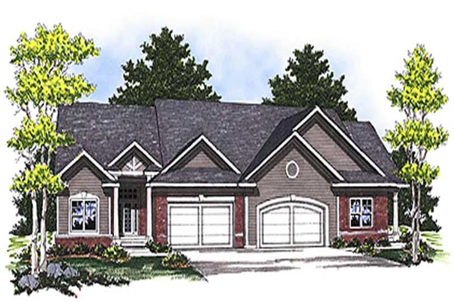 Main image for house plan # 17182