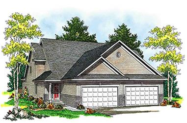 Main image for house plan # 17201