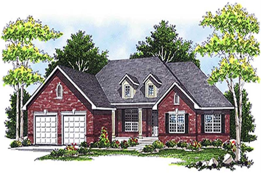 Main image for house plan # 17063