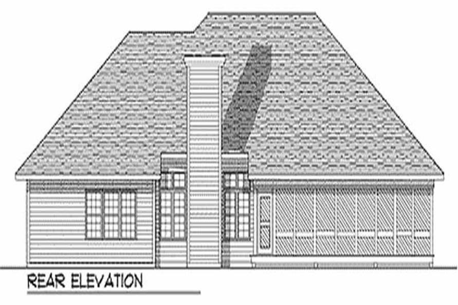House Plan #101-1050